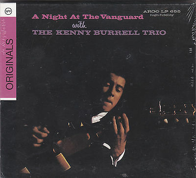 THE KENNY BURRELL TRIO - a night at the vanguard CD