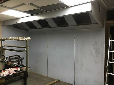 STAINLESS STEEL EXTRACTION CANOPY HOOD 2.5m (2500mm)