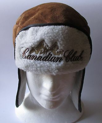 Canadian Club Scotch Whiskey brand new winter hat cap for home bar or collector