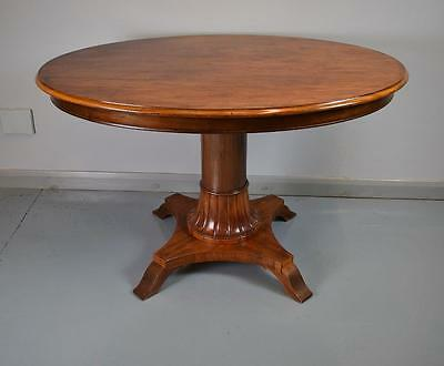 Victorian Antique Mahogany Oval Centre Table