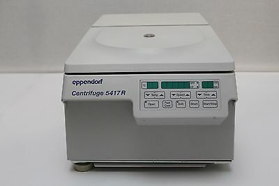 Eppendorf 5417R Refrigerated Centrifuge w/ Rotor F45-30-11 + Lid 14000 rpm
