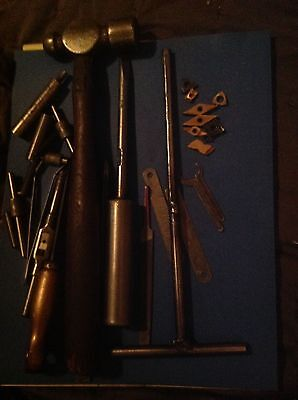 Large Lot Set Of 30. Miscellaneous Metal Tools.
