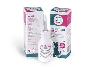 Reduced! PDSA Vet Care Ear Care Cleaner for Dogs (7563)