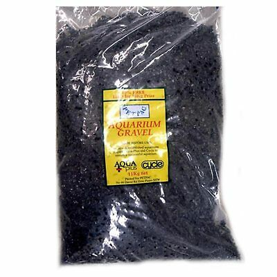 Marina Petpac Natural Black Gravel 11kg Fish Tank Terrarium Substrate