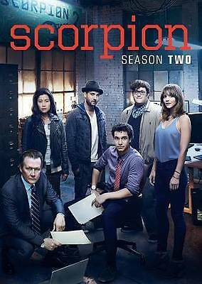 Scorpion: The Second Season 2 Two (DVD, 2016, 6-Disc Set) Brand New & Sealed!!