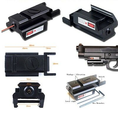MICRO PUNTO LASER  MIRINO LASER SOFTAIR PICATINNY LASER SIGHT L2030 airsoft