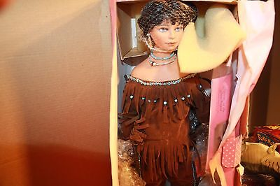 Spirit Of The Sky Paradise Galleries Native American Doll New In Box