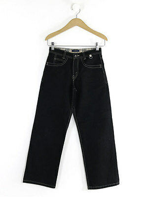 Burberry Boys Black Straight Leg Jeans Size 10 Years