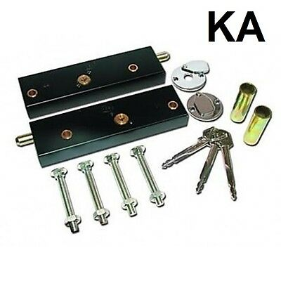 Garage Door Bolt Locks for Extra Security (KEYED ALIKE - MIN ORDER 2 PAIRS)