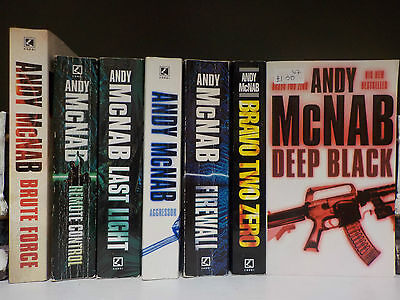 Andy McNab - 7 Books Collection! (ID:46136-139)