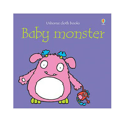 Usborne Baby Monster Cloth Book - BRAND NEW