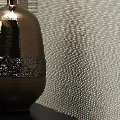 """Graham & Brown WAS $50, NOW $8 Linen Textured Taupe Wallpaper 33' x 20.5"""""""
