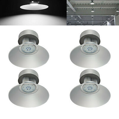 4X 150W LED High Bay Light Workshop Commercial Industrial Lamp UK SMDs Warehouse