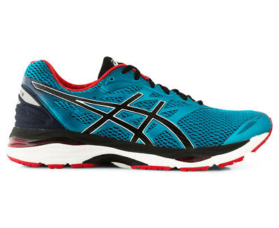 ASICS Men's GEL-Cumulus 18 Runner - Island Blue/Black/Vermilion