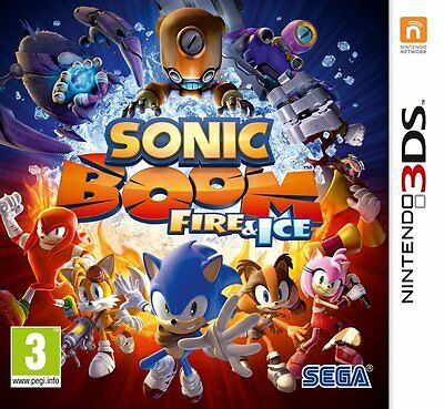 Sonic Boom: Fire & Ice  (Nintendo 3DS) NEW SEALED PAL