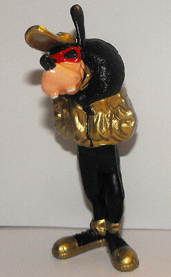 Goofy in Gold Leather Jacket 3 1/2 inch Plastic Figurine