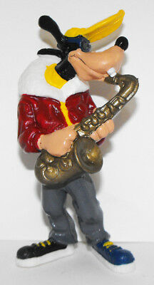 Goofy Playing Saxophone 3 inch Figurine