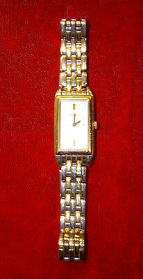 Ladies Stainless Steel And Gold Tone 1N00-0PZ0 Wristwatch