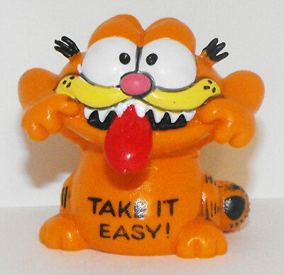 Garfield Tongue Sticking Out Figurine