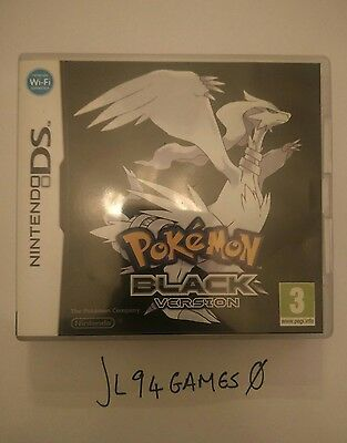 Nintendo Ds Pokemon Black Version - Complete - 2Ds 3Ds