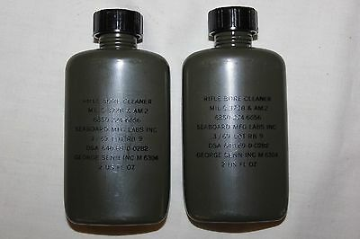 2 Government Issue US Military Vietnam Era Army Rifle Bore Cleaner Date 1969 2