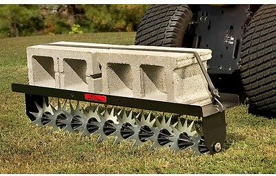 Brinly-Hardy 40 in. Tow-Behind Spike Lawn Aerator Soil Penetrator Mower Hitch