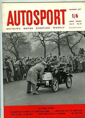 Autosport November 1st 1957 *Morocco Grand Prix & Lime Rock*