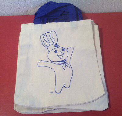 1 Vintage 1990s Pillsbury Doughboy Toat Bag New condition (never washed or used)