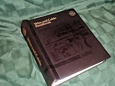 Vintage General Electric GE Wire & Cable Handbook 1983, Big Binder of Neat Info!