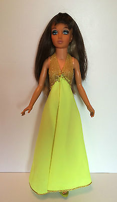 "Tiffany Taylor 1974 Ideal 19"" Doll Color Changing Hair Original Outfit Shoes"