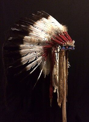 War Bonnet, Sioux Style, Finest in Tribal Display!