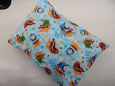 Child Toddler Cot Pillowcase Thomas The Tank Engine and Friends  100% Cotton