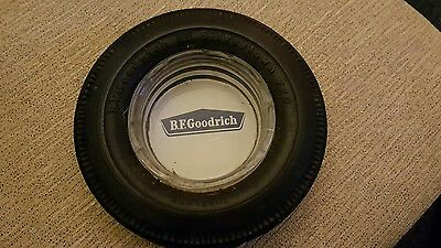 Vintage B. F. GOODRICH Rubber Tire Advertising Ashtray