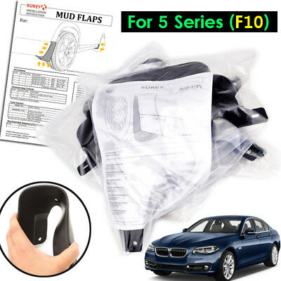 OE Style Splash Guards Mud Flaps For BMW 5 Series Touring M Sport F11 11-17