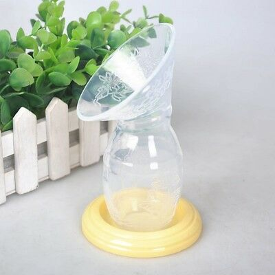 Silicone Mom Breastfeeding Manual Breast Pump Baby Feeding Milk Saver Collector