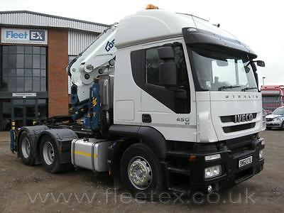 Iveco Stralis Active Time 6X4 Tractor Unit 2012