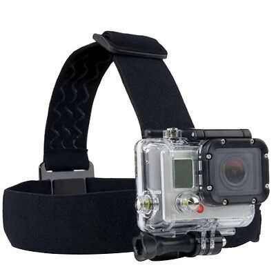 GoPro Adjustable Elastic Head Strap Mount Belt Harness Hero 2/3 Session