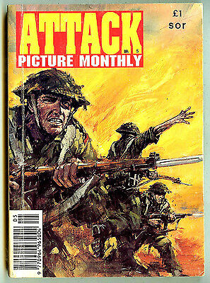 Attack Picture Monthly 5 (Fleetway, 192 pages) high grade copy