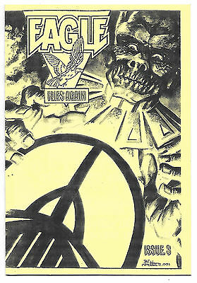 Eagle Flies Again #3 (UK fanzine, 2001) Colin Frewin & Mike Weston interviews