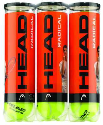 Head Racdical Tennis Balls - Cheap 1 Tube 2 Tubes 3 Tubes Best Price