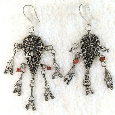 Silver Earring Old Yemen