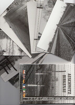 Auschwitz Concentration Camp photo cards Oswiecim Poland Lot of 13 cover