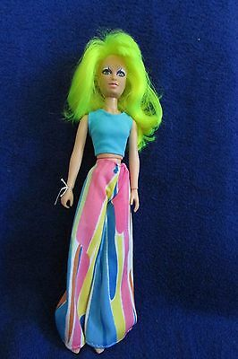 Vintage 1986 Hasbro Jem Doll - Pizzazz of the Misfits