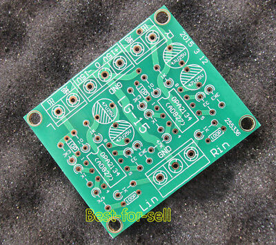 CLASS AA OP Amp Preamp / Headphone Amplifier Board PCB for AD827 NE5532  OPA2134