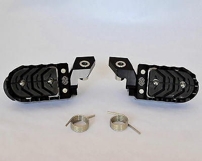 BMW Adjustable Footrests for R1200GS LC & R1200GSA LC - Lower by 20mm - Black