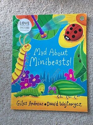 Mad About Minibeasts! By Giles Andreae Picture Book