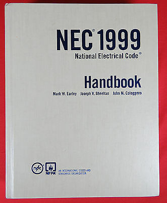 1999 NEC National Electrical Code Handbook Manual HC