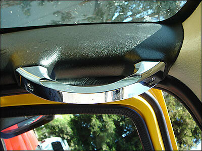 Hummer H2 SUV & SUT Chrome Billet Interior Grab Handles, 5pc