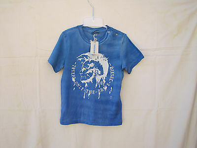 """T-shirt DIESEL - """"Only the Brave"""" - Taille 6 mois - Neuf avec étiquette"""