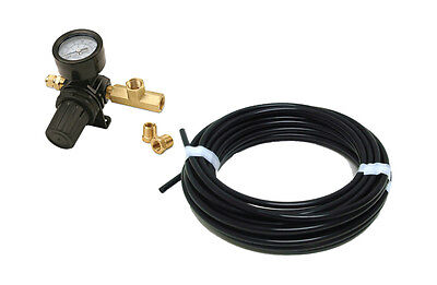 "Viair Pressure Regulator 90150 with 50 FT 1/4"" OD Airline & Fittings Air Ride"